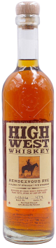 High west rendezvous rye whiskey e1598890736287